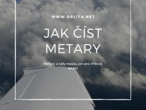 METAR a TAF – zjednodušený popis