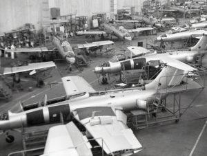 Výroba L-29 v Kunovicích